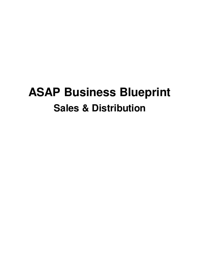 Sap sd business blueprint asap business blueprint sales distribution malvernweather Gallery