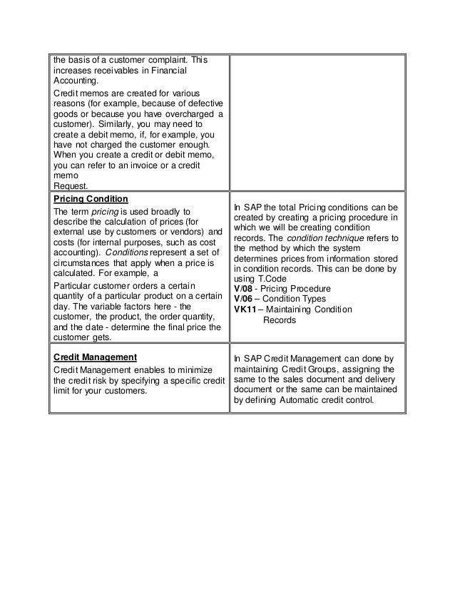 Sap sd business blueprint 6 the malvernweather Choice Image