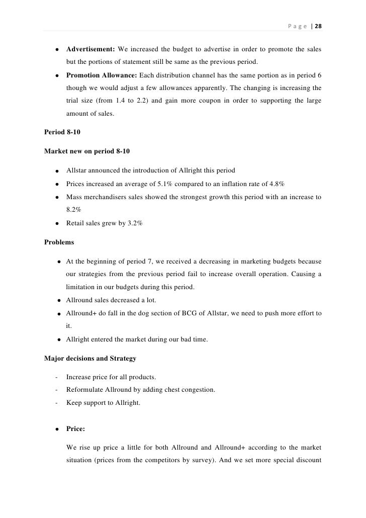 Pharmasim Presentation - PowerPoint PPT Presentation