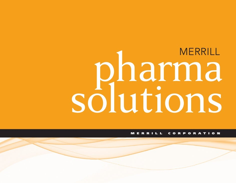 MERRILL   pharma solutions