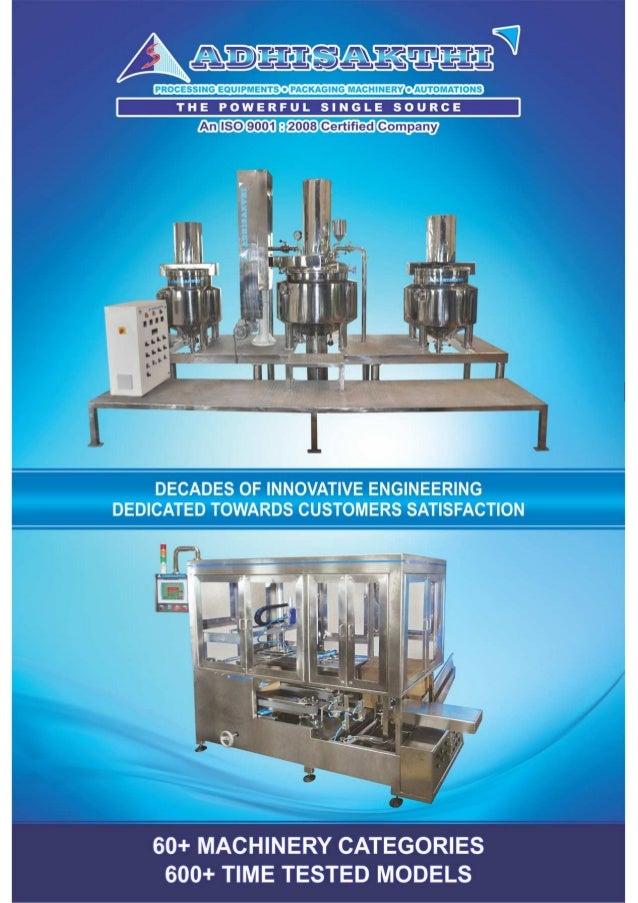 Adhi Sakthi Projects, Thiruvandarkoil, Cream Plant