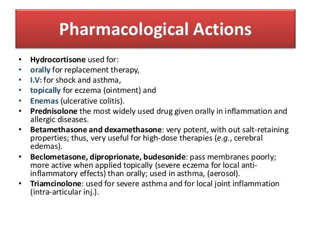 Pediatrics Pharmacology Steroids