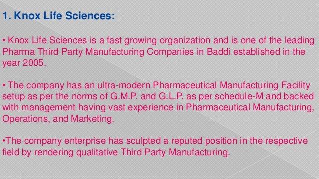 Pharma third party manufacturing companies in Baddi | Pharmaadda