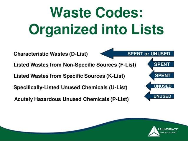 Characteristic And Ed Hazardous Wastes Kansas Department