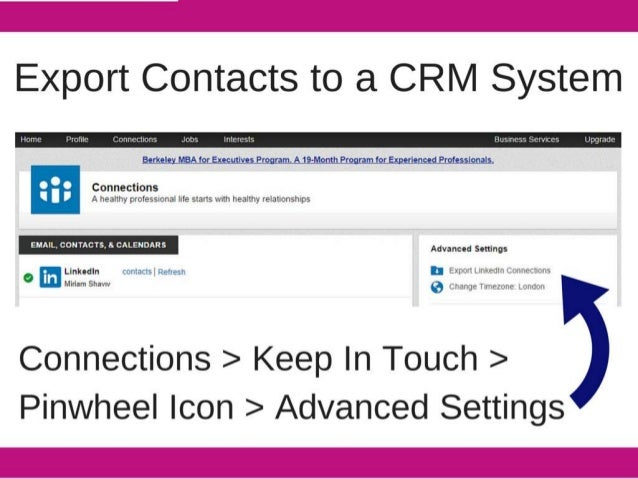 Export Contacts to a CRM System     Eerlxelex_M8AJor_Eu-suttveLemonrn. A19:Momh_&ograrnloxtfixperieomiflolesslonals.   - - -...
