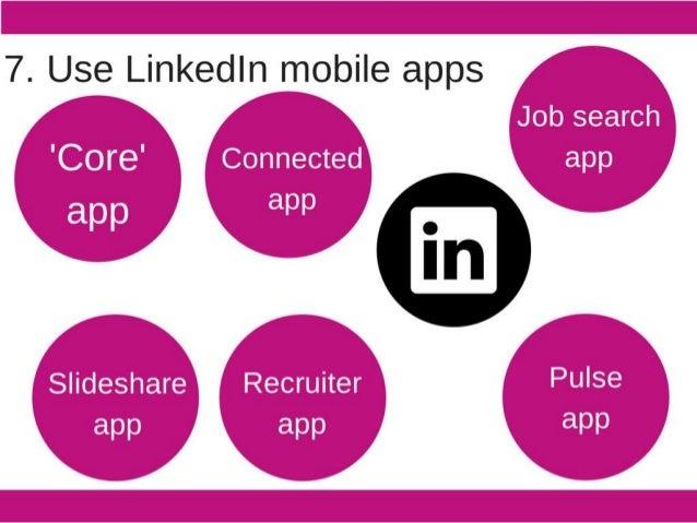 """'.1.  (Job search  I 'V1  j app   'r .   ~"""" .   if , i Slideshare E' Recruiter   Pulse   app"""