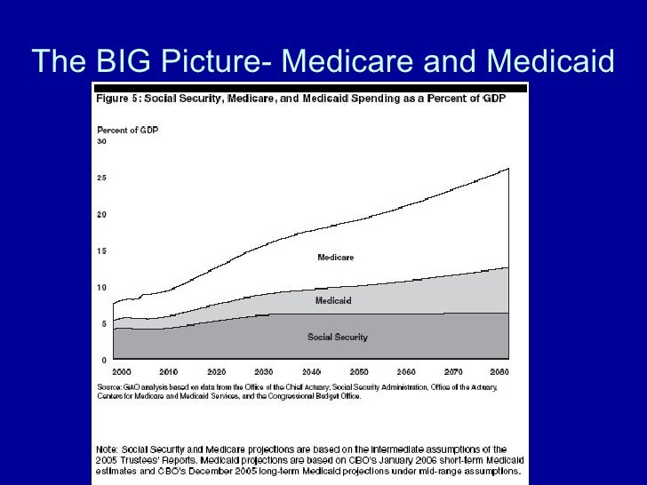 The BIG Picture- Medicare and Medicaid