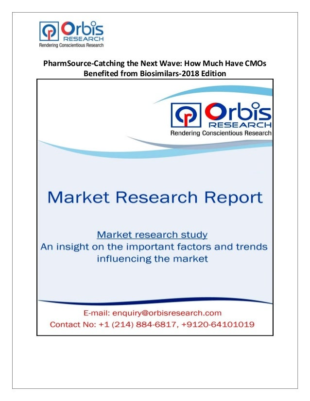 PharmSource-Catching the Next Wave: How Much Have CMOs Benefited from…