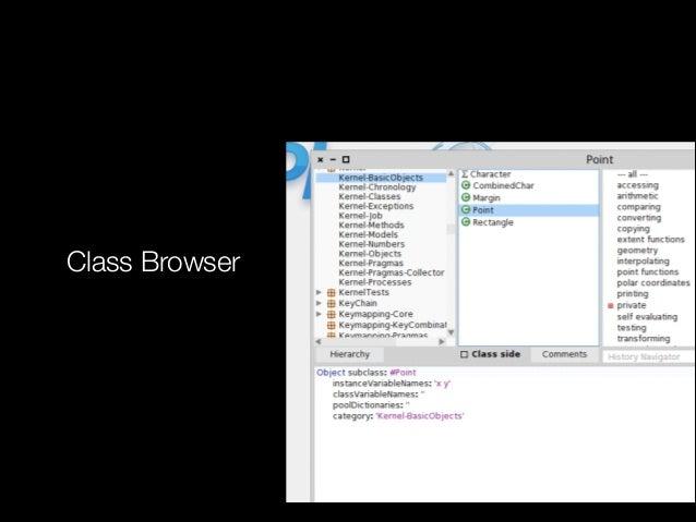 Class Browser