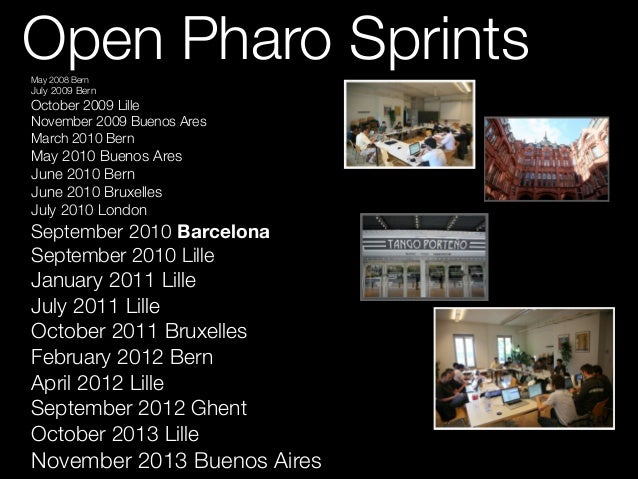 Pharo: Objects at your Fingertips