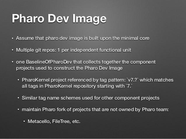 Pharo sources in git Slide 3