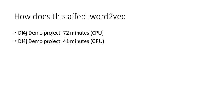 Exploring Word2Vec in Scala