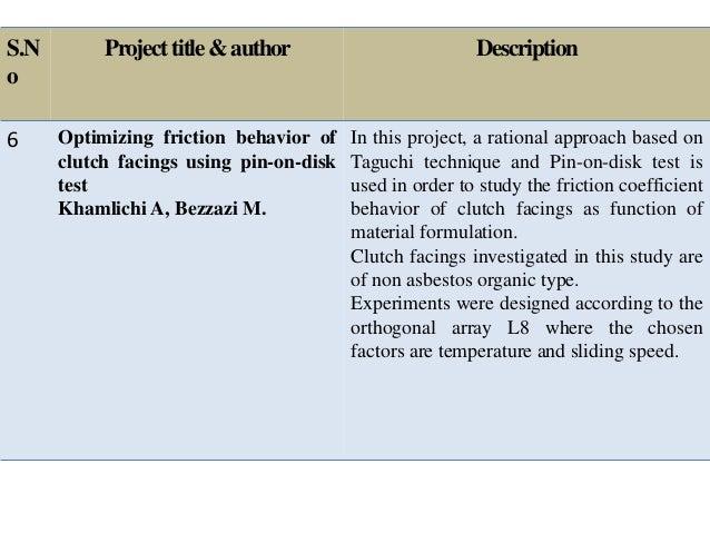 single plate friction clutch pdf