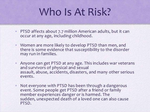 Post Traumatic Stress Disorder May >> Post Traumatic Stress Disorder