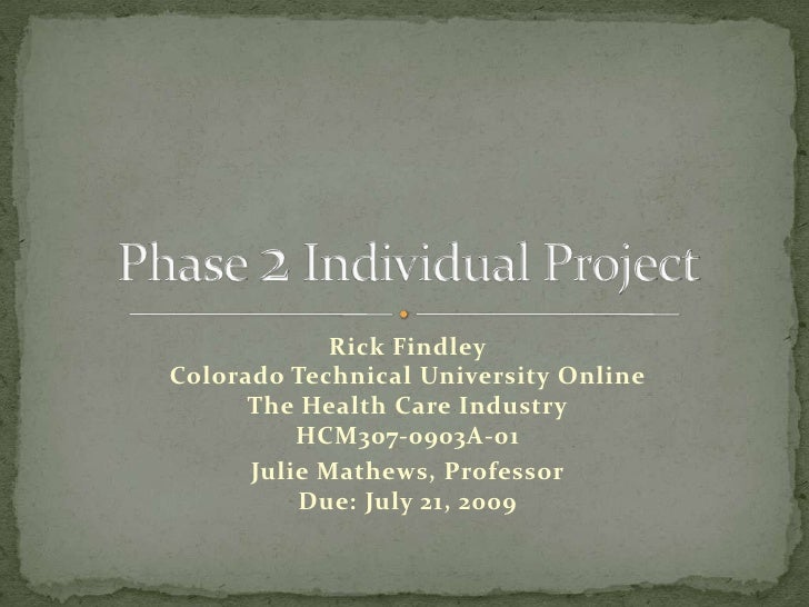 phase 1 individual project Phase 1 individual project deliverable length: 500–750 words details: weekly tasks or assignments (individual or group projects) will be due by monday and late submissions will be assigned a late penalty in accordance with the late penalty policy found in the syllabus.