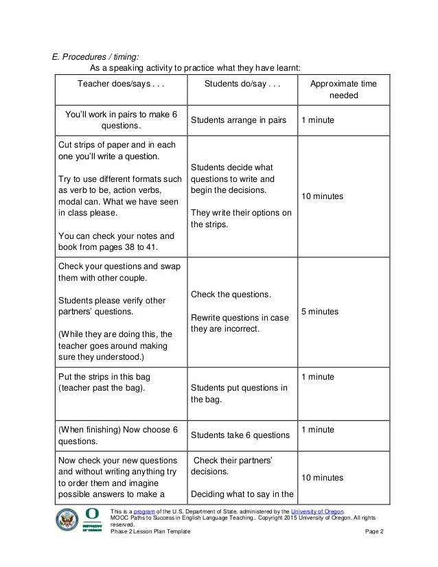teaching lesson plans template canre klonec co