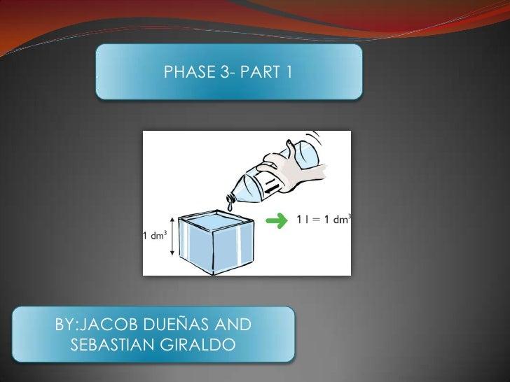 PHASE 3- PART 1<br />BY:JACOB DUEÑAS AND SEBASTIAN GIRALDO<br />