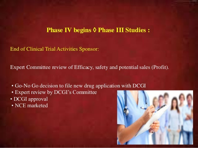 Clinical trials Phase3 ppt