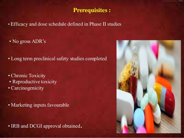 • Phase IIIA: • Prior to NDA Generates data on safety and efficacy • Phase IIIB : After the NDA but prior to the approval ...