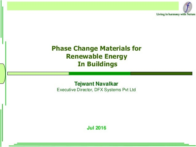 how to make phase change material