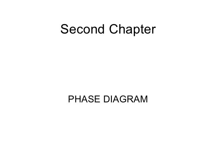 Second Chapter PHASE DIAGRAM