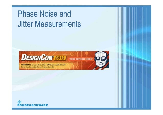 Phase Noise andJitter Measurements