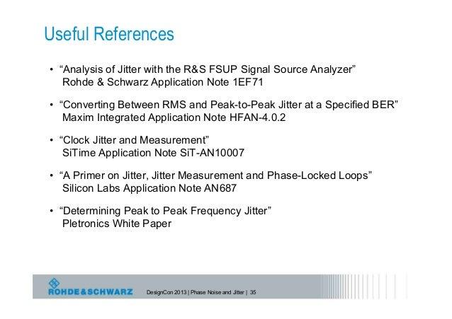 agilent phase noise measurement application note
