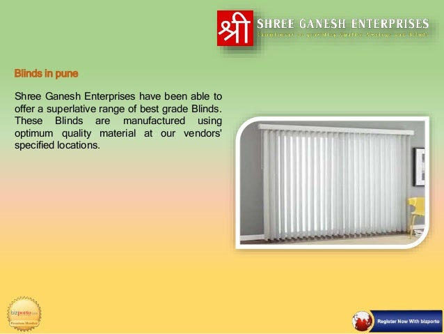 Shree Ganesh Enterprises Best Quality Awnings Amp Blinds In Pune