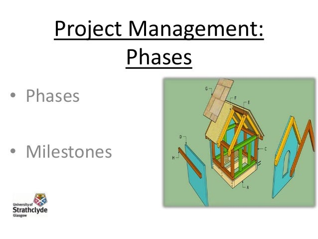 Project Management: Phases • Phases • Milestones