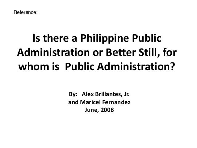 Phases in the Evolution of Public Administration