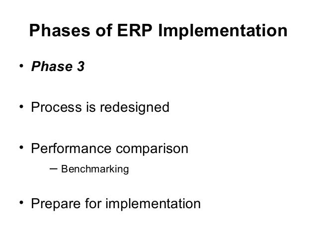 Erp implementation phase thesis