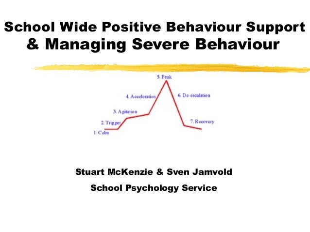 School Wide Positive Behaviour Support & Managing Severe Behaviour Stuart McKenzie & Sven Jamvold School Psychology Service