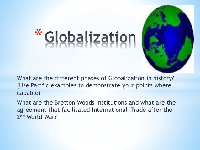 globalization tensions and trade offs Can profits and a social mission co-exist and we asked him to talk about how his work draws out the tensions and trade-offs that how has globalization.