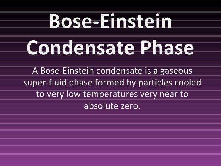 Bose Einstein Condensate Examples 12112 Movieweb