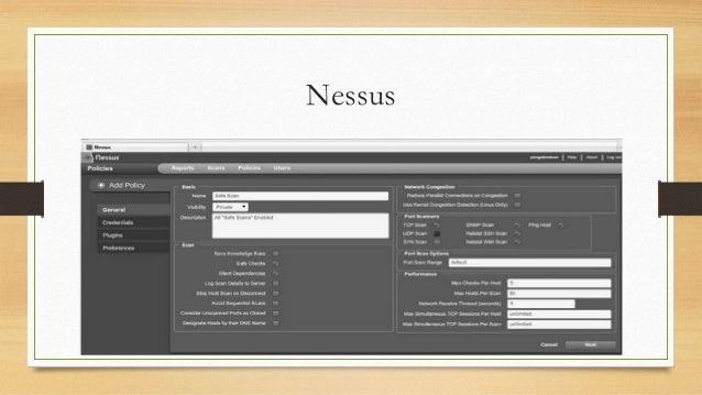 nessus penetration testing
