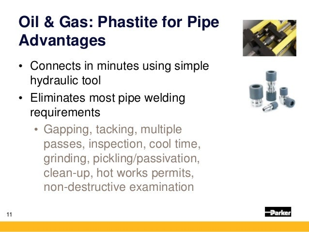 Phastite for Pipe in Oil and Gas   Non-welded Piping System