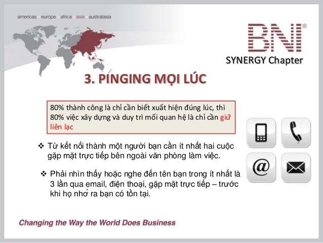 [BNI Đào tạo 5 phút] - Phát triển quan hệ trong kinh doanh Slide 8