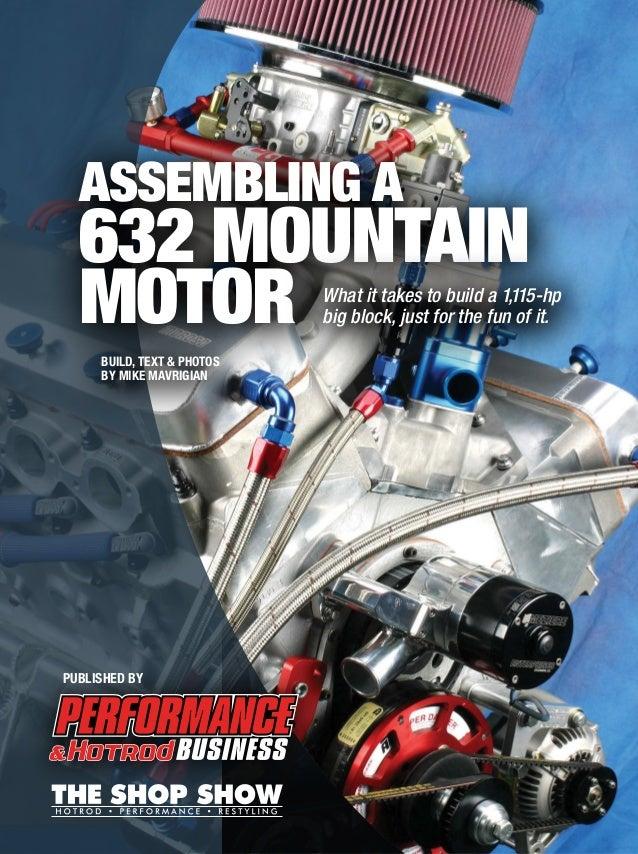 Assembling a 632 Mountain Motor