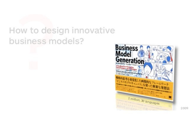 ? 2009 How to design innovative business models? 1 million, 30 languages