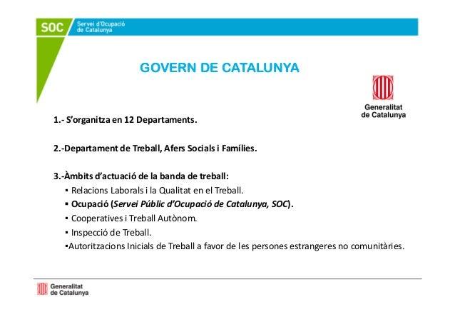 Sessi informativa del servei p blic d 39 ocupaci de catalunya - Soc oficina de treball ...