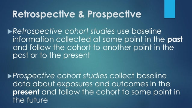 case control study vs cohort study retrospective Case control studies start with an outcome a case control study compares people who already have a condition or disease this is the case with some cohort studies case control studies are always retrospective they always look back.