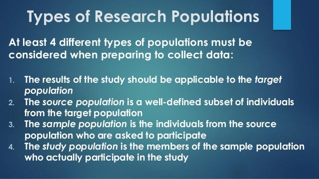 how to choose sample size for research
