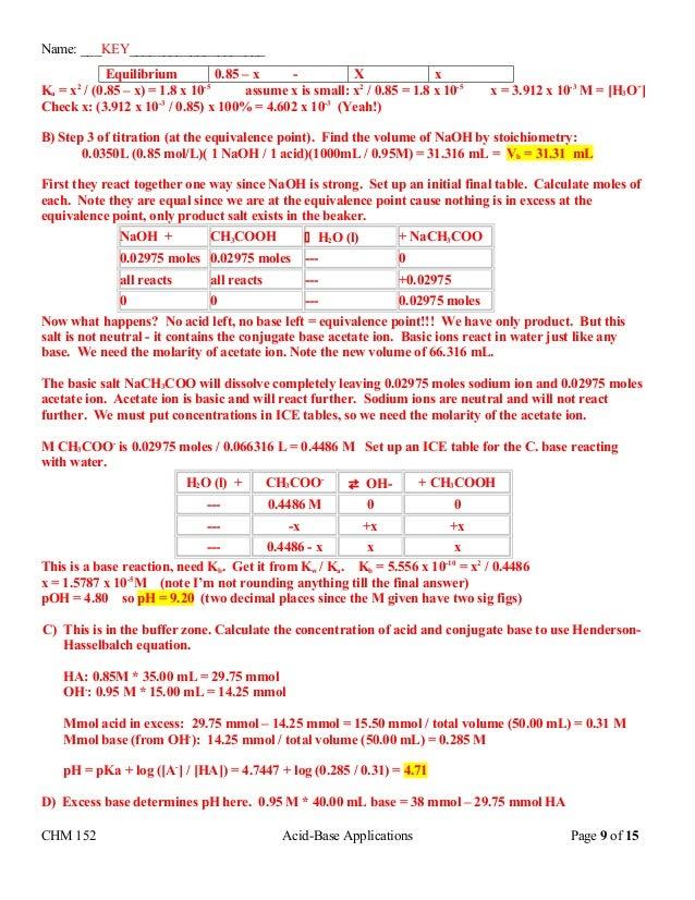 P h calculations