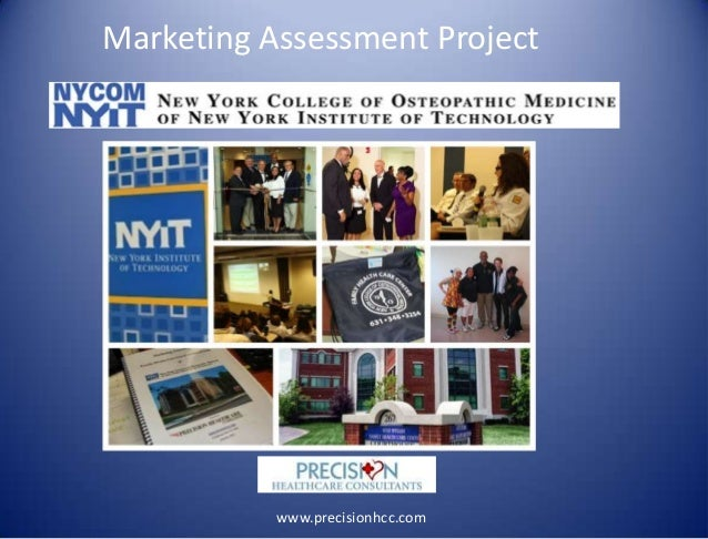 Marketing Assessment Project www.precisionhcc.com