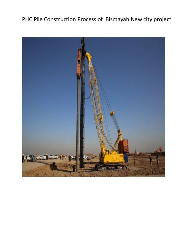 PHC pile Installation methods