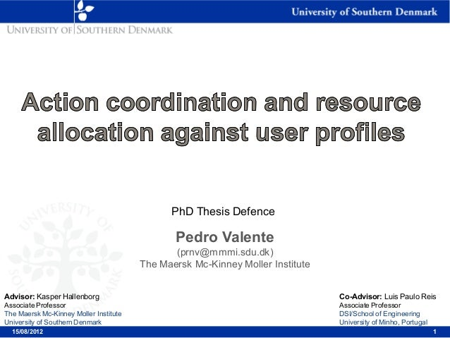 thesis defence sdu