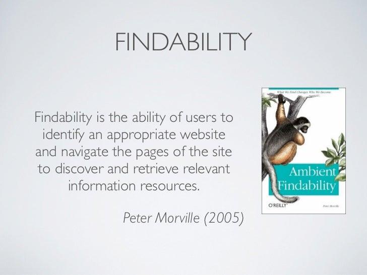 Using mashup technology to improve findability Slide 3