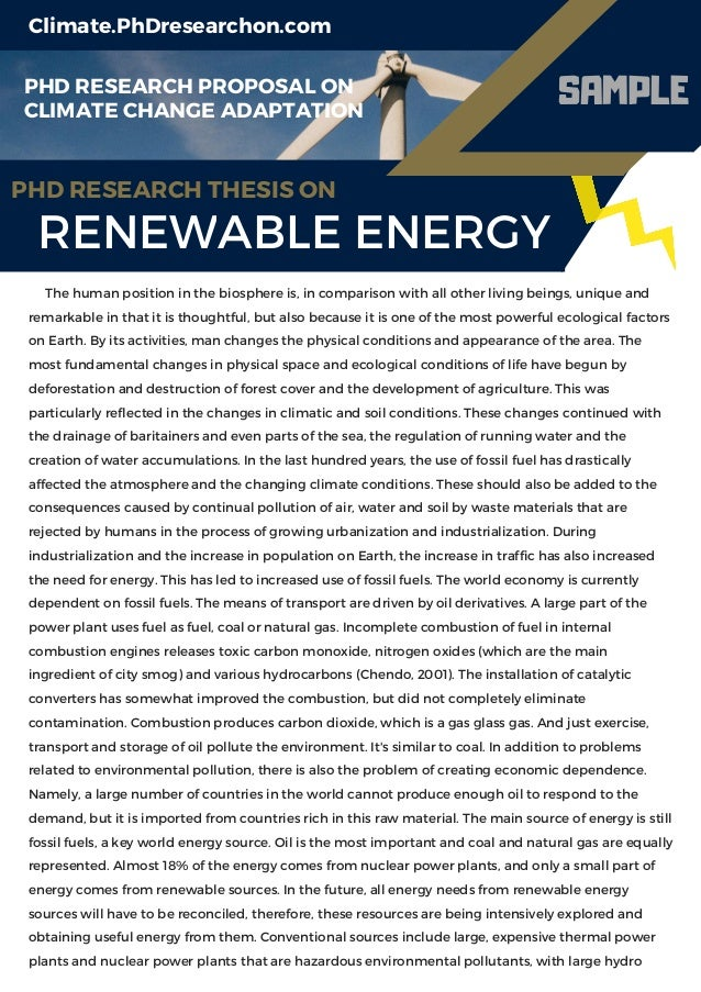 Phd thesis renewable energy sources