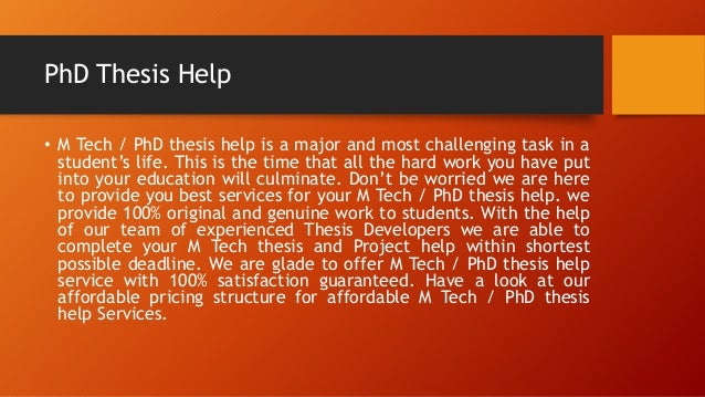 Phd thesis defense help in chandigarh