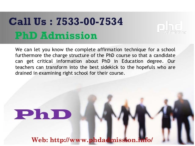 Coursework in phd